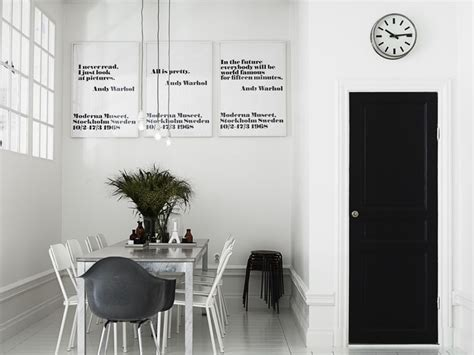 scandinavian style white and black nordic bliss