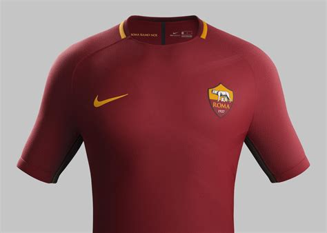 As Roma Home 2017 by As Roma Home Kit 2017 18 Nike News