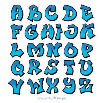 graffiti alphabet   graffiti lettering