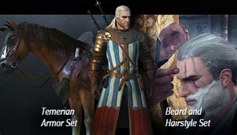 beard and hairstyles dlc the witcher 3 wild hunt may 19th launch