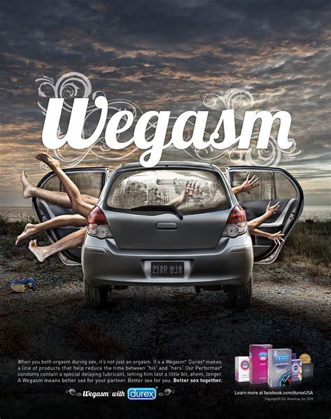 car service ad durex print advert by ogilvy wegasm car ads of the