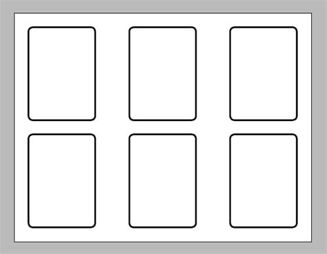 magic the gathering card printing template how can i print a card sized deck list magictcg