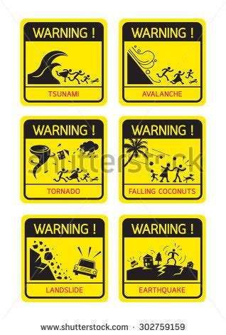 Yellow Sticker Earthquake Meaning
