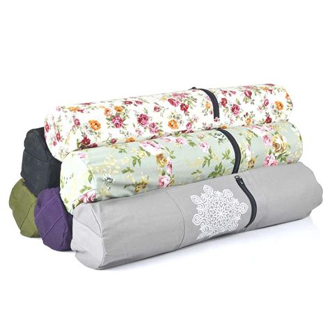 buy pattern yoga mat new fashion sport fitness canvas yoga bag with many