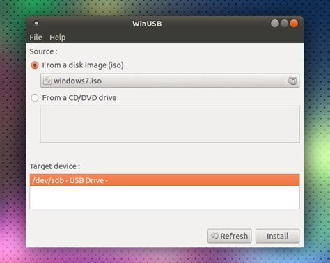 how to create a bootable ubuntu on window boxitkh tool to create windows usb install stick from linux