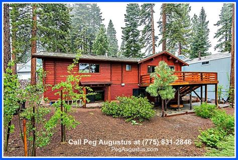 log cabin incline real estate 205 nadine ct