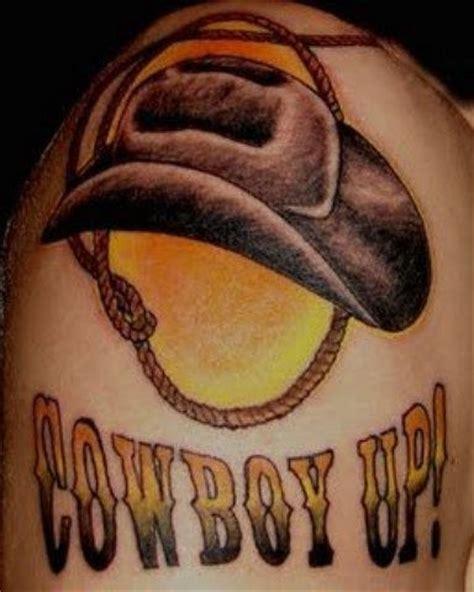 cowboy up tattoos cowboy tattoos