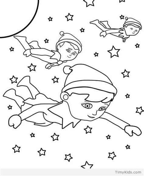 elf on the shelf coloring page girl 20 elf on the shelf coloring pages for kids timykids