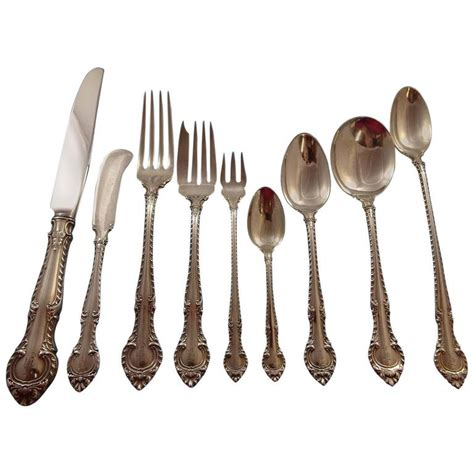 english gadroon pattern english gadroon by gorham sterling silver flatware service