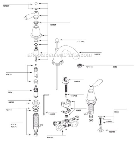 moen monticello parts diagram moen t6620 parts list and diagram ereplacementparts