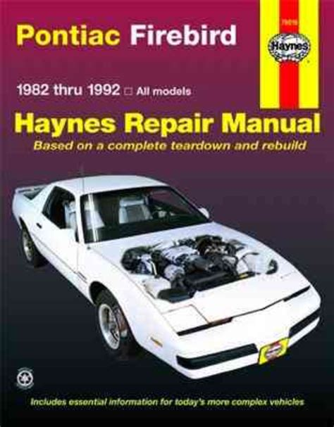 best auto repair manual 1997 pontiac firebird lane departure warning haynes workshop manual pontiac firebird 1982 1992 new service repair v6 v8 163 15 25 picclick uk