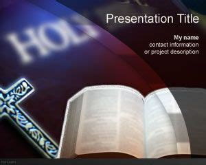 Free Holy Bible Powerpoint Template Bible Powerpoint Template
