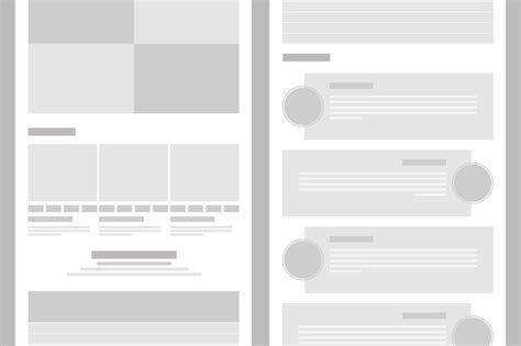 blog layout mockup tablet wireframe layout mockup creative vip
