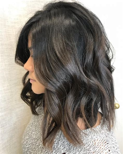 textured lob hairstyles long shattered bob hairstyle hairstyles by unixcode