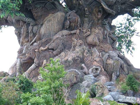 filetree  life disneys animal kingdom trunk detail