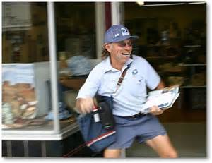 Happy Mailman Whyweiser Small Town Big