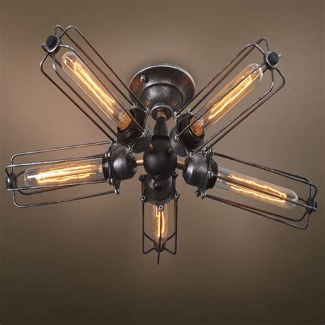 metal ceiling fan with light popular caged ceiling fan buy cheap caged ceiling fan lots