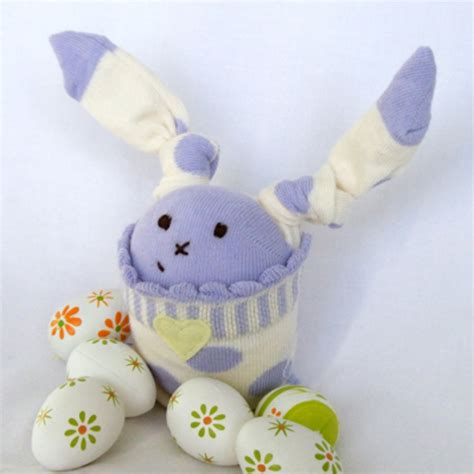 sock bunny friends folksy quot easter sock bunny quot from widget and friends craftjuice handmade social network