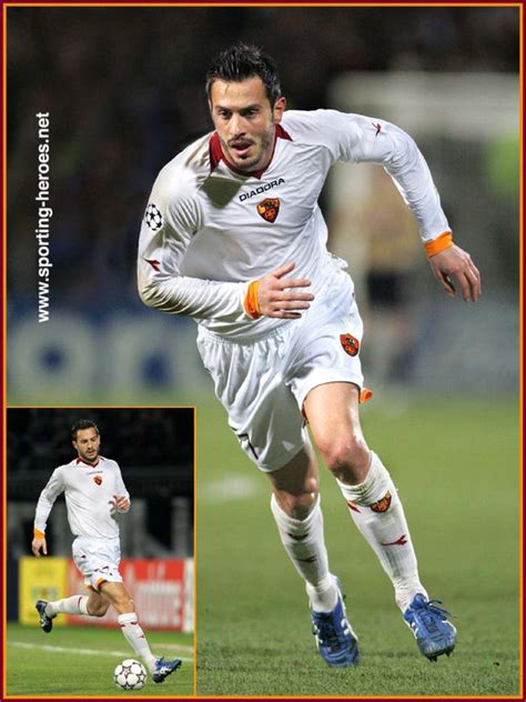 cassetti roma marco cassetti uefa chions league 2006 07 as roma