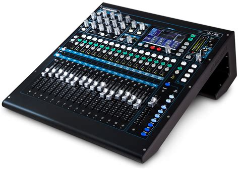 Mixer Allen Heath Second allen heath qu 16 digital mixer keymusic
