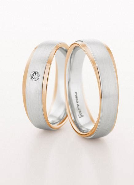 Wedding Rings On Right by Wedding Ring Satin Finish White And Gold 6mm Ring