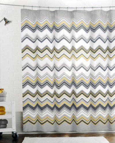 black yellow curtains 15 best images about black and white chevron shower