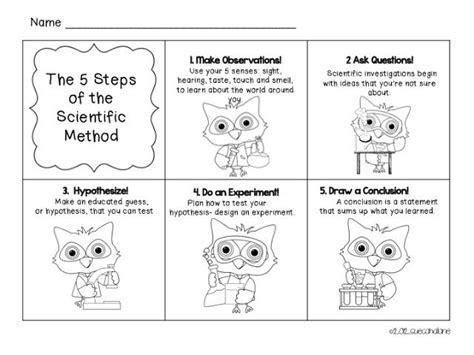 scientific method coloring pages images about scientific