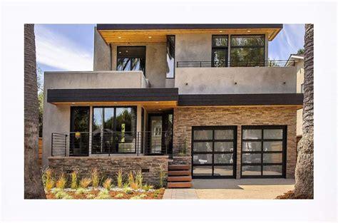 casas casas lujosas fachadas de viviendas modernas de dos plantas