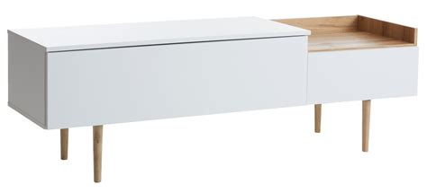 TV bench AARUP white/oak   JYSK