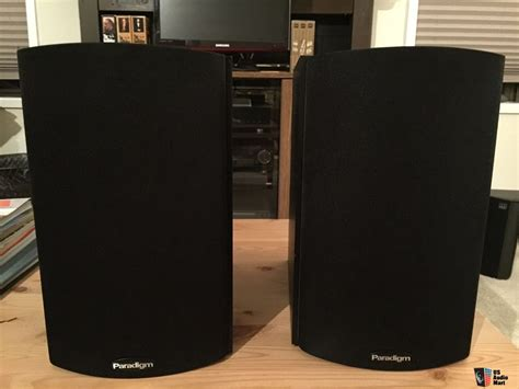 paradigm atom monitor v 5 bookshelf speakers photo