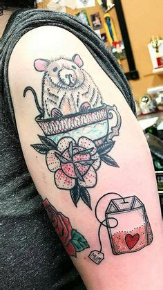 Little Tea Bag Dot Work Piece By Patcrump From Last Week Big Kahuna Boca Raton
