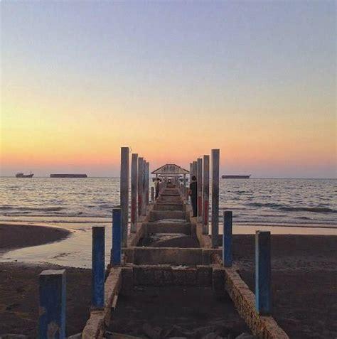 wisata keluarga pantai alam indah tegal   populer