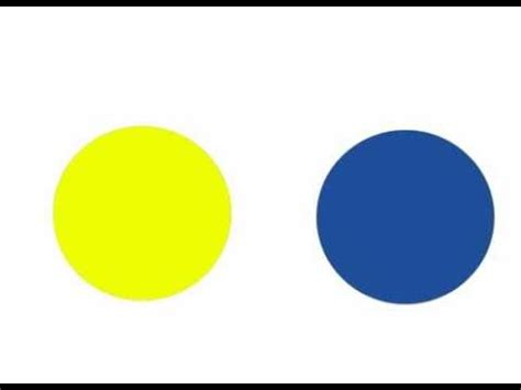blue and yellow make yellow and blue make green youtube
