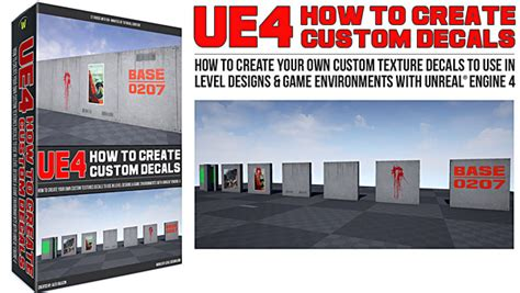 level design tutorial ue4 ue4 how to create your first decal material tutorial