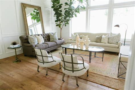 modern farmhouse living room photos hgtv