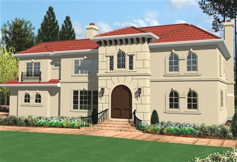 spanish colonial house plans spanish colonial 8303 4 bedrooms and 3 baths the house
