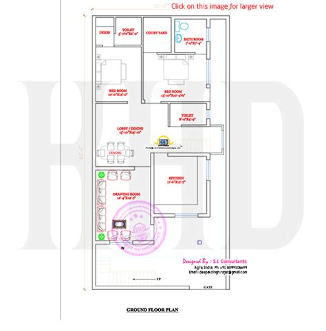indian house floor plans floor plan of north indian house kerala home design and