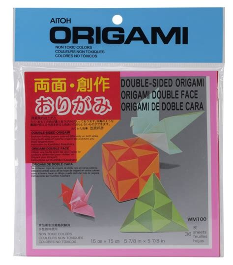 Origami Paper 6x6 - buy origami paper sided color 6x6 36 sheet