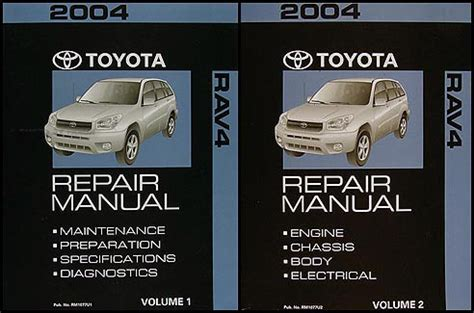 service manual best car repair manuals 2004 toyota tacoma xtra transmission control 2001 2004 toyota rav4 repair shop manual 2 volume set original