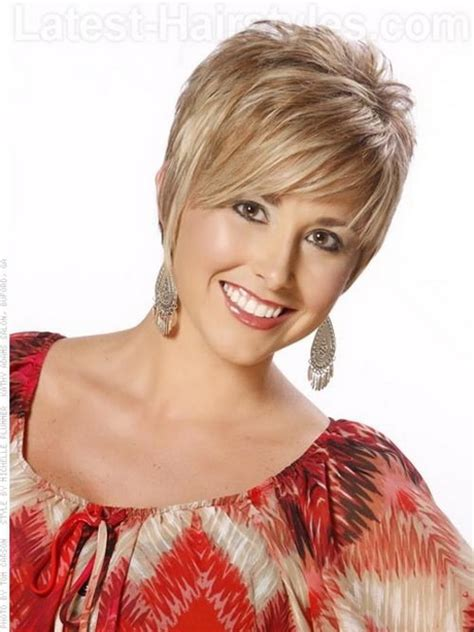 short hairstyles for heavy set women womens short hairstyles