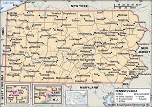 Map Of Pennsylvania Cities And Towns by Pennsylvania Cities Kids Encyclopedia Children S