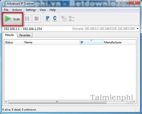 Advanced Ip Address Lookup Scan Ip Addresses In A Lan With Advanced Ip Scanner