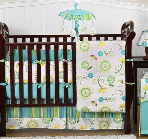 discount baby bedding turquoise and lime layla girls boutique baby bedding 9pc