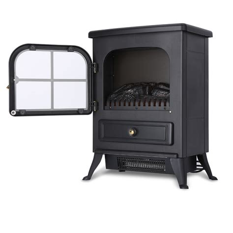 Wood Burning Fireplace Heaters by New Portable1850w Electric Fireplace Heater Wood Burning