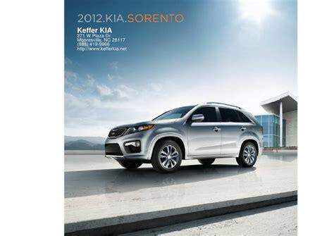 2012 kia sorento for sale nc kia dealer near
