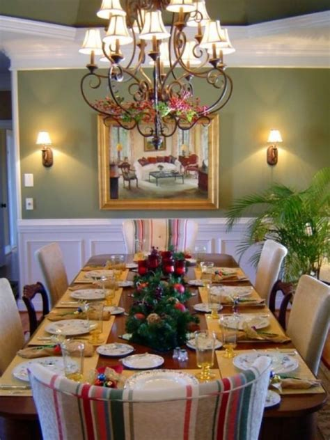 christmas table decorations settings hgtv