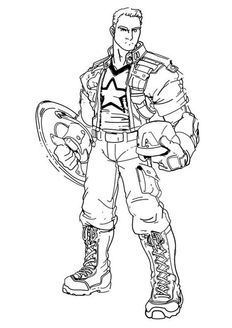 Baju Print Avenger Captain America captain america coloring pages grig3 org