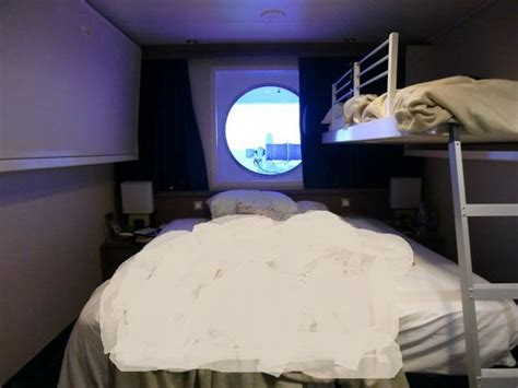 msc magnifica kabinen bewertung bild quot sichtbehinderte au 223 enkabine doppelbett kindbett quot zu
