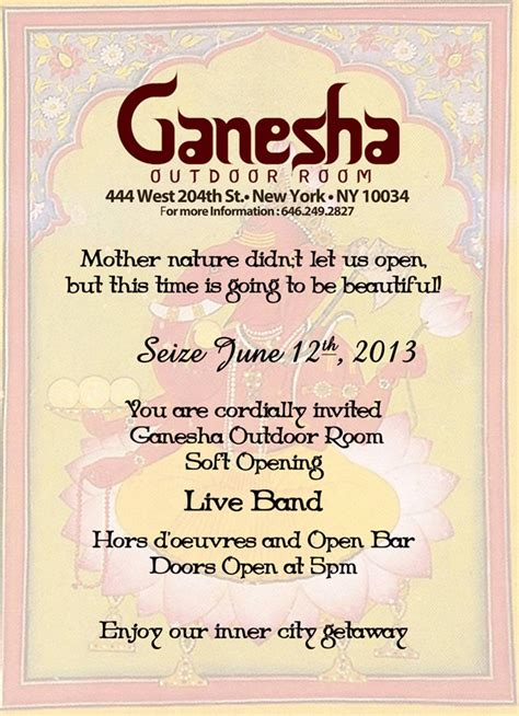 ganesha outdoor room soft vs grand opening opening pictures to pin on