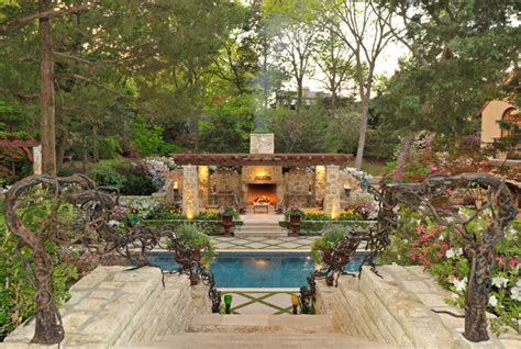 secluded backyard ideas secluded private retreat patio dallas by harold